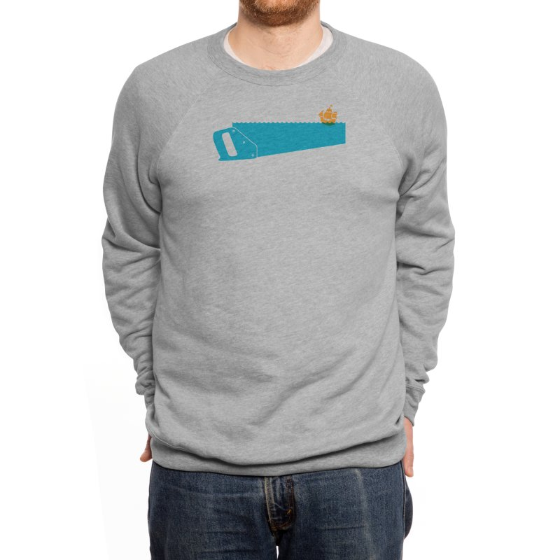 Sea Saw Men's Sweatshirt by Threadless Artist Shop