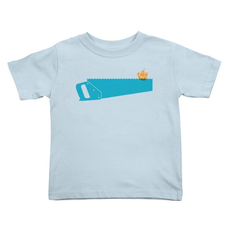 Sea Saw Kids Toddler T-Shirt by Threadless Artist Shop