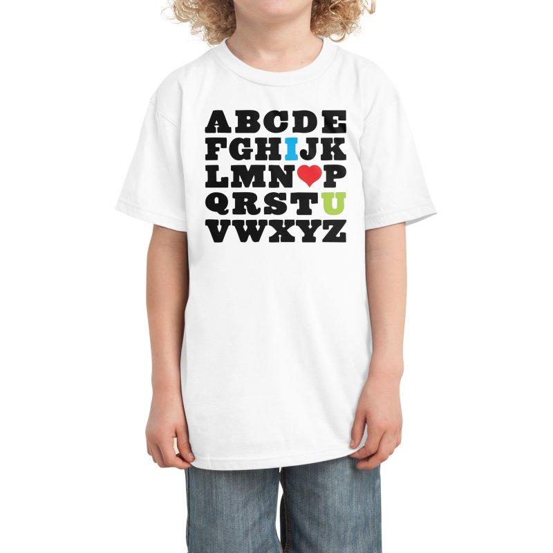 Love Your Fellow As Yourself Kids T-Shirt by Threadless Artist Shop