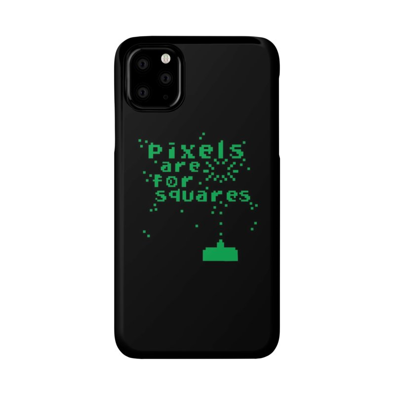 Pixels Are For Squares Accessories Phone Case by Threadless Artist Shop