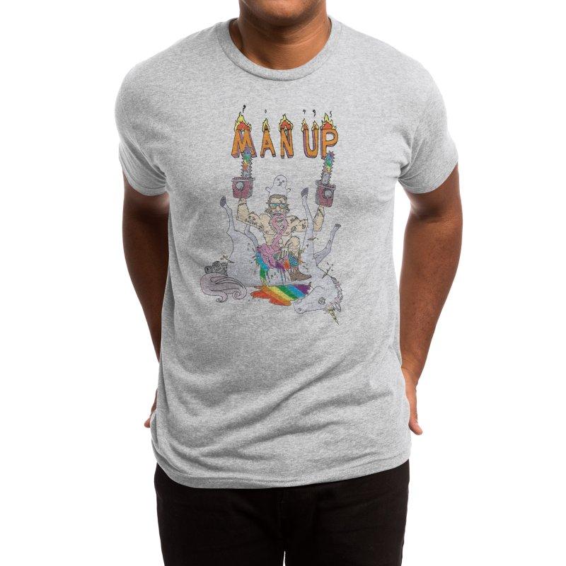 Man Up! Men's T-Shirt by Threadless Artist Shop