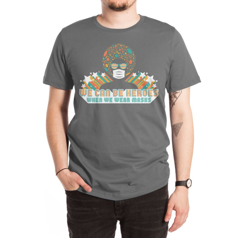 We Can Be Heroes Men's T-Shirt by Threadless Artist Shop