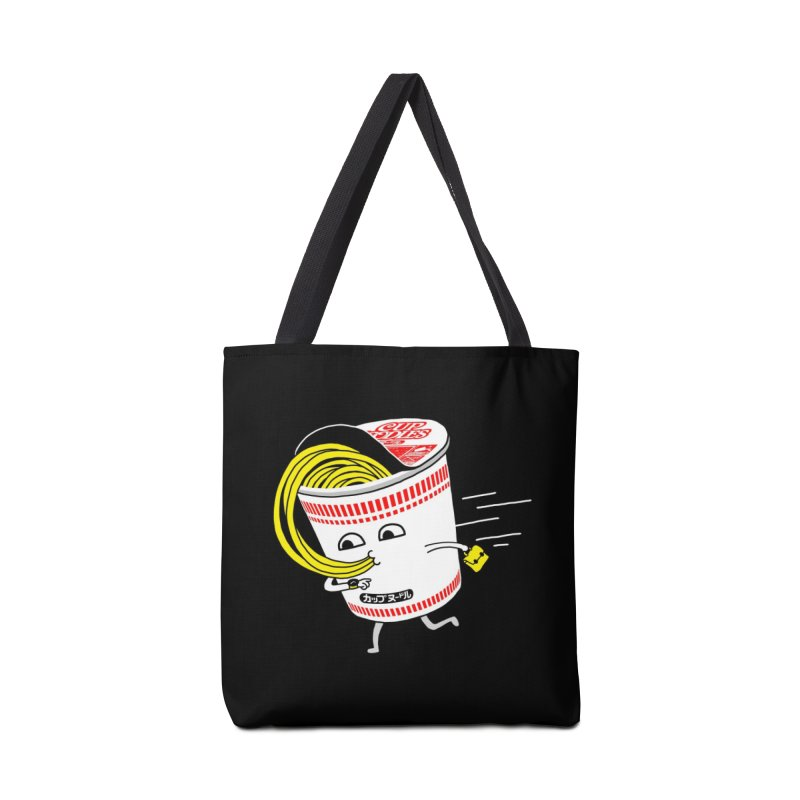 Quick Meal in a Rush! Accessories Bag by Threadless Artist Shop