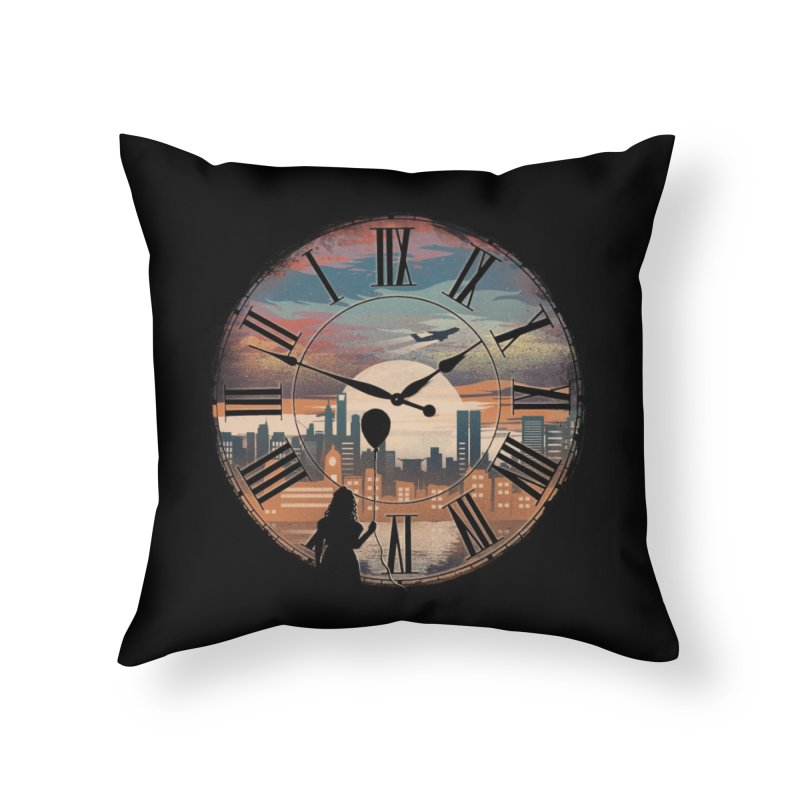 Right here waiting Home Throw Pillow by Threadless Artist Shop