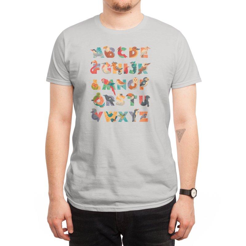 Aerialphabet Men's T-Shirt by Threadless Artist Shop