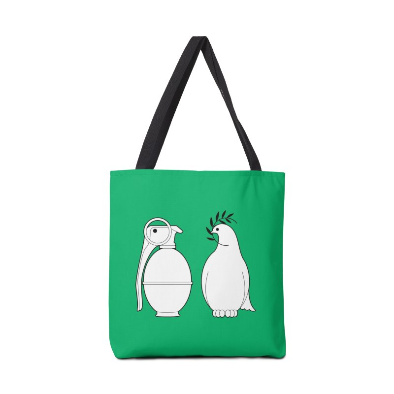 Peace and Hate. Can You Tell The Difference? Accessories Bag by Threadless Artist Shop