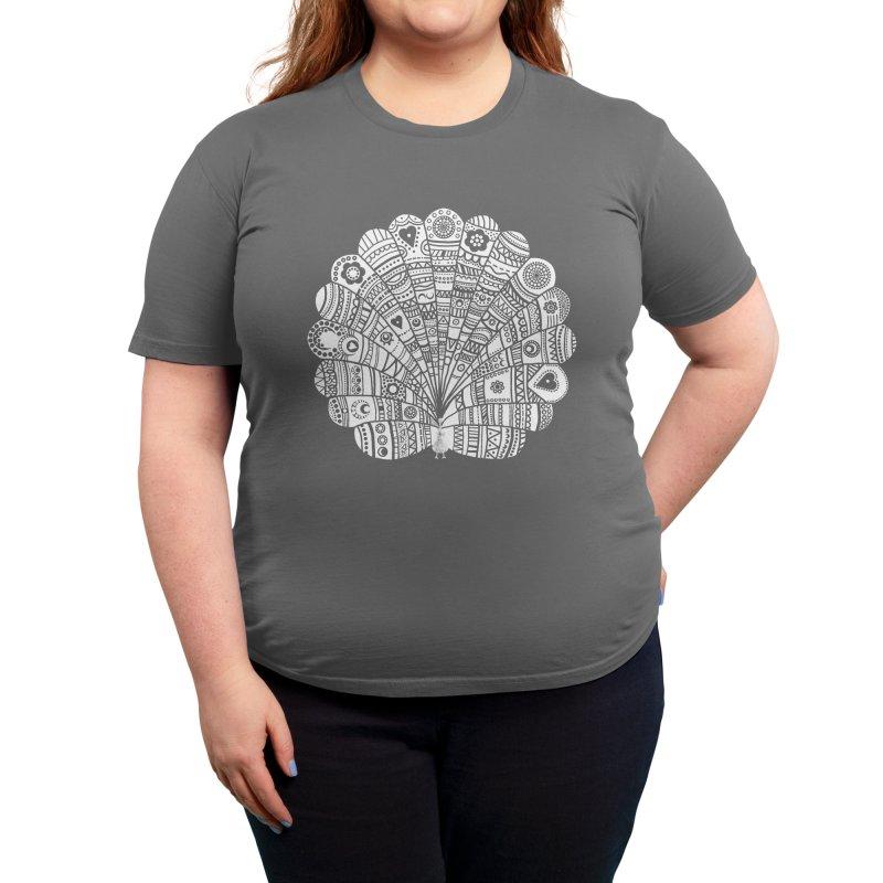 Peacock at Night Women's T-Shirt by Threadless Artist Shop