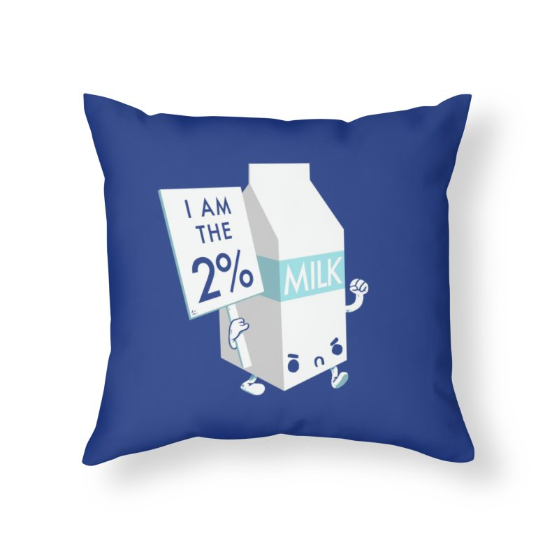 Occupy The Fridge Home Throw Pillow by Threadless Artist Shop