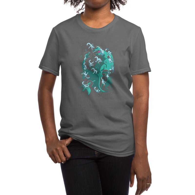 Epic Space Melee Women's T-Shirt by Threadless Artist Shop