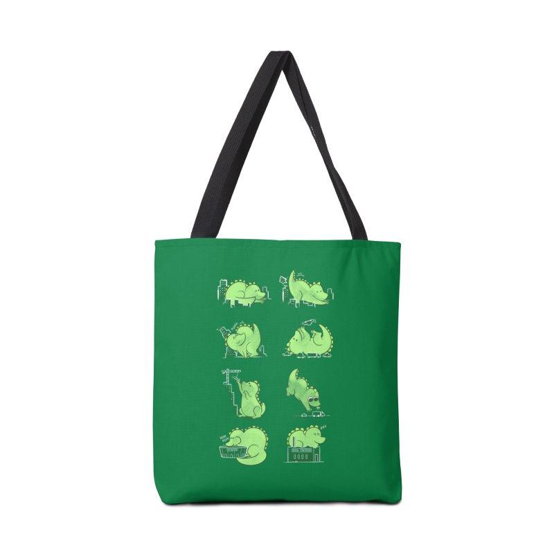Gawwwzillawww Accessories Bag by Threadless Artist Shop