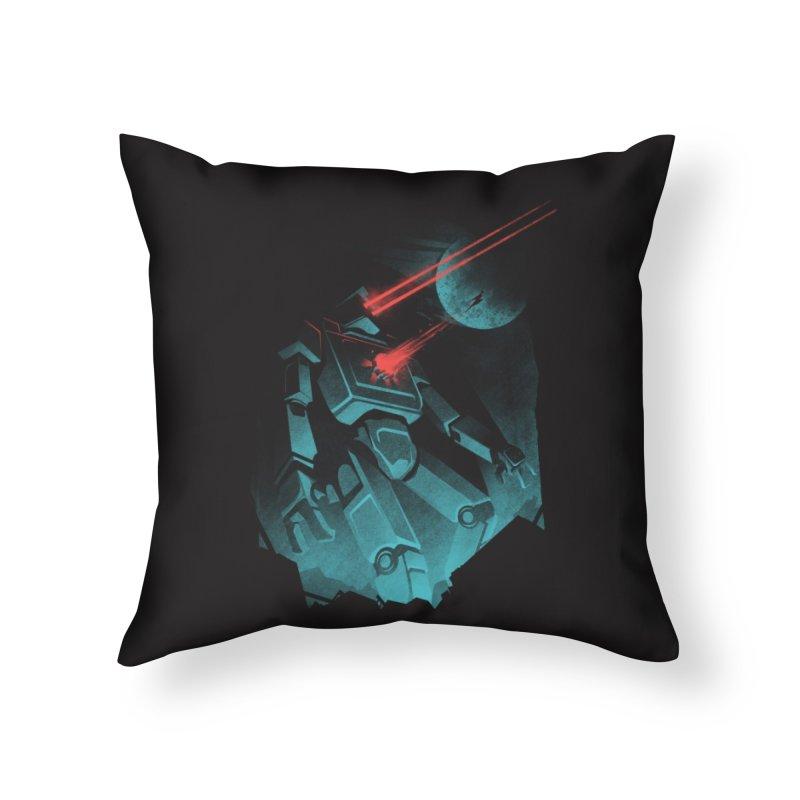 I BETA ROBOT Home Throw Pillow by Threadless Artist Shop