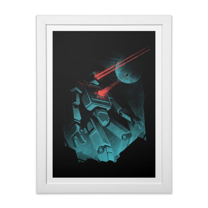 I BETA ROBOT Home Framed Fine Art Print by Threadless Artist Shop