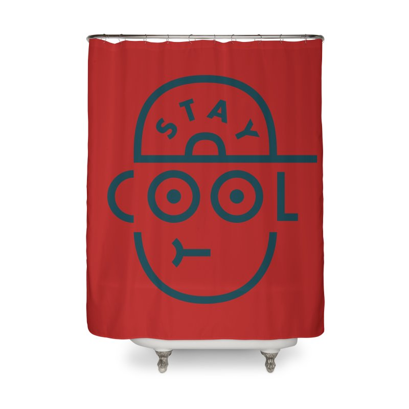 Stay Cool - Jaco Haasbroek Home Shower Curtain by Threadless Artist Shop