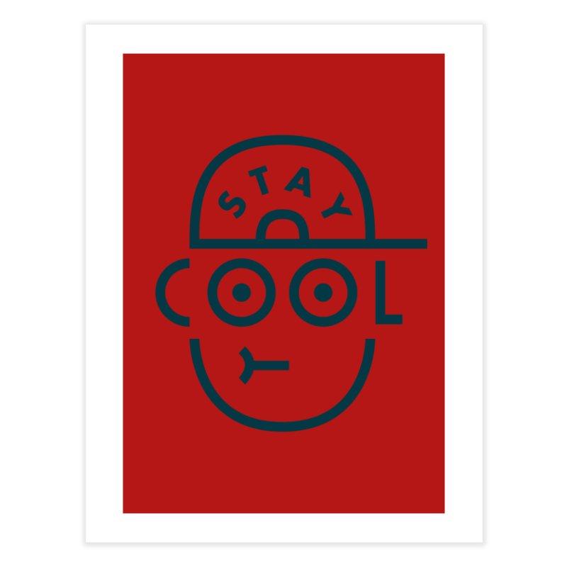 Stay Cool - Jaco Haasbroek Home Fine Art Print by Threadless Artist Shop