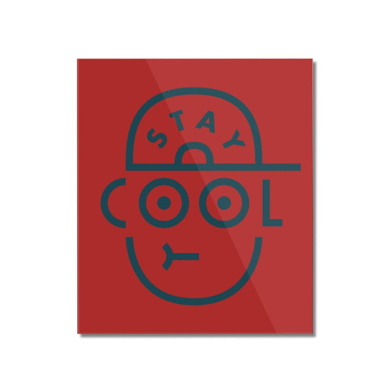 Stay Cool - Jaco Haasbroek Home Mounted Acrylic Print by Threadless Artist Shop