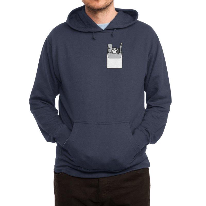 Nerd in Pocket Men's Pullover Hoody by Threadless Artist Shop