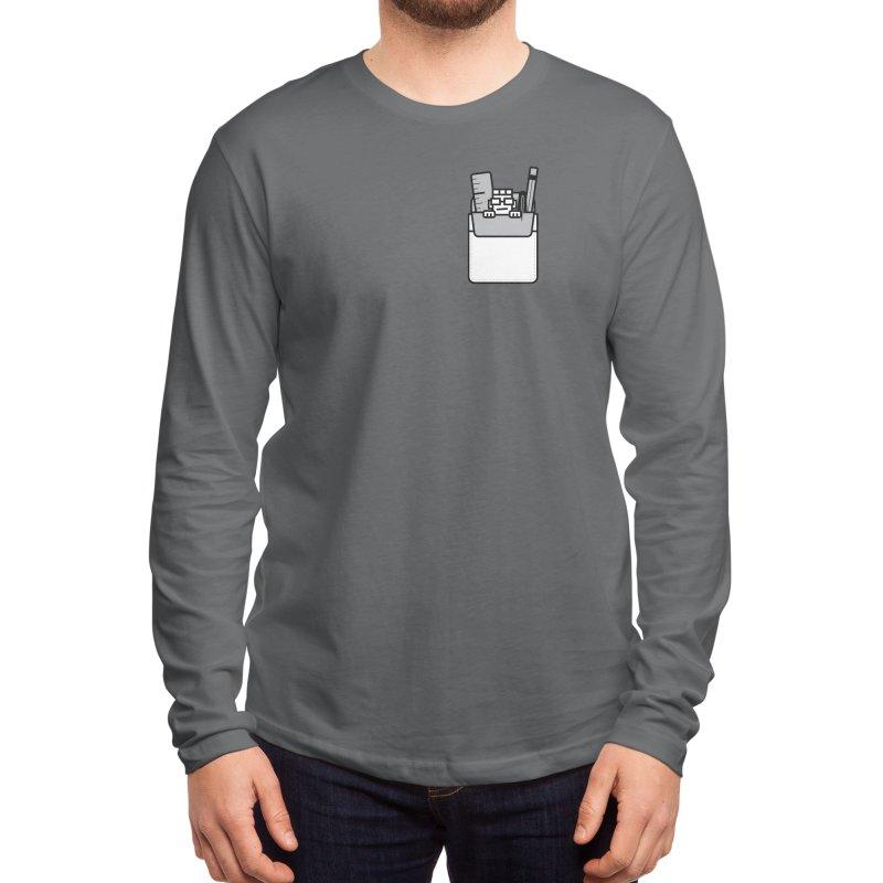 Nerd in Pocket Men's Longsleeve T-Shirt by Threadless Artist Shop