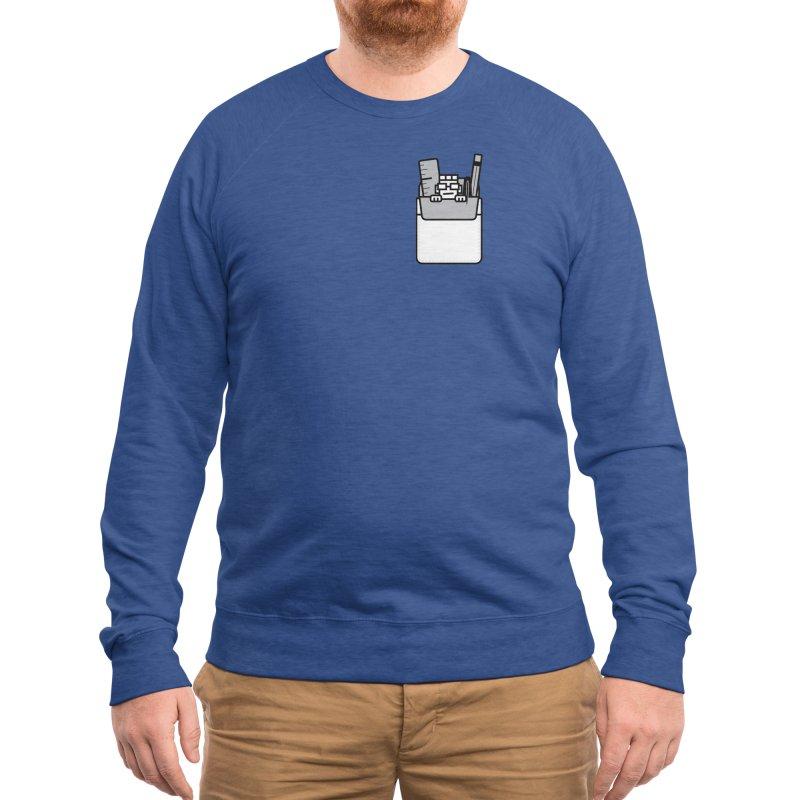 Nerd in Pocket Men's Sweatshirt by Threadless Artist Shop