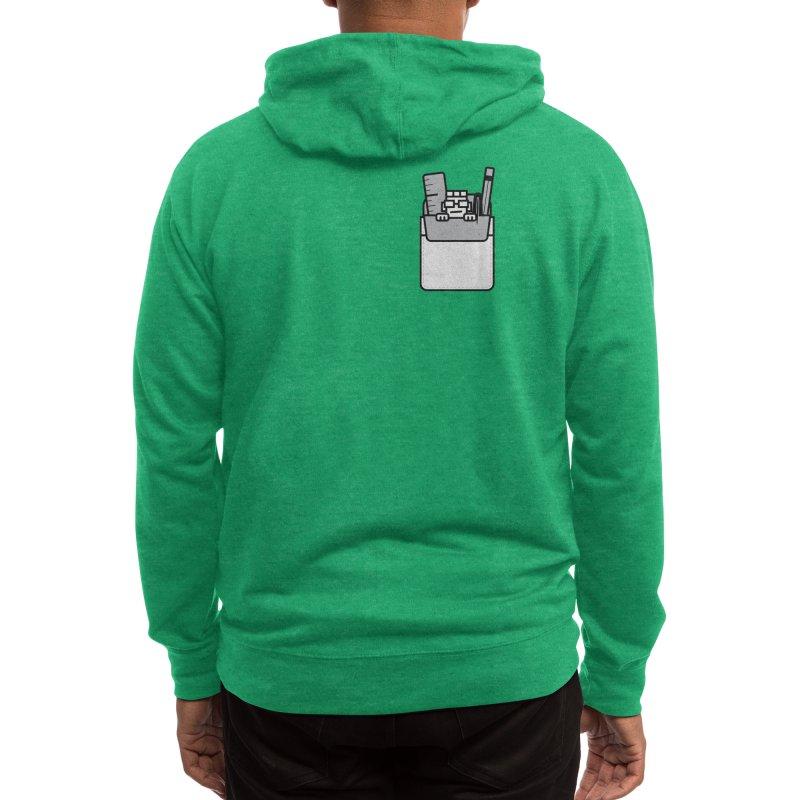 Nerd in Pocket Men's Zip-Up Hoody by Threadless Artist Shop