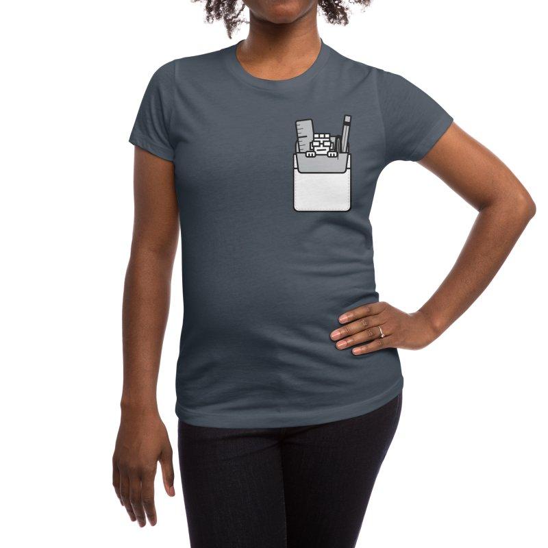 Nerd in Pocket Women's T-Shirt by Threadless Artist Shop