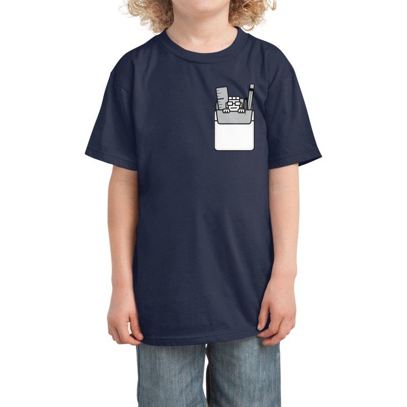 Nerd in Pocket Kids T-Shirt by Threadless Artist Shop