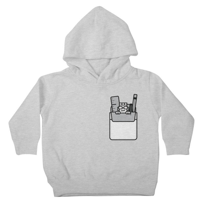 Nerd in Pocket Kids Toddler Pullover Hoody by Threadless Artist Shop