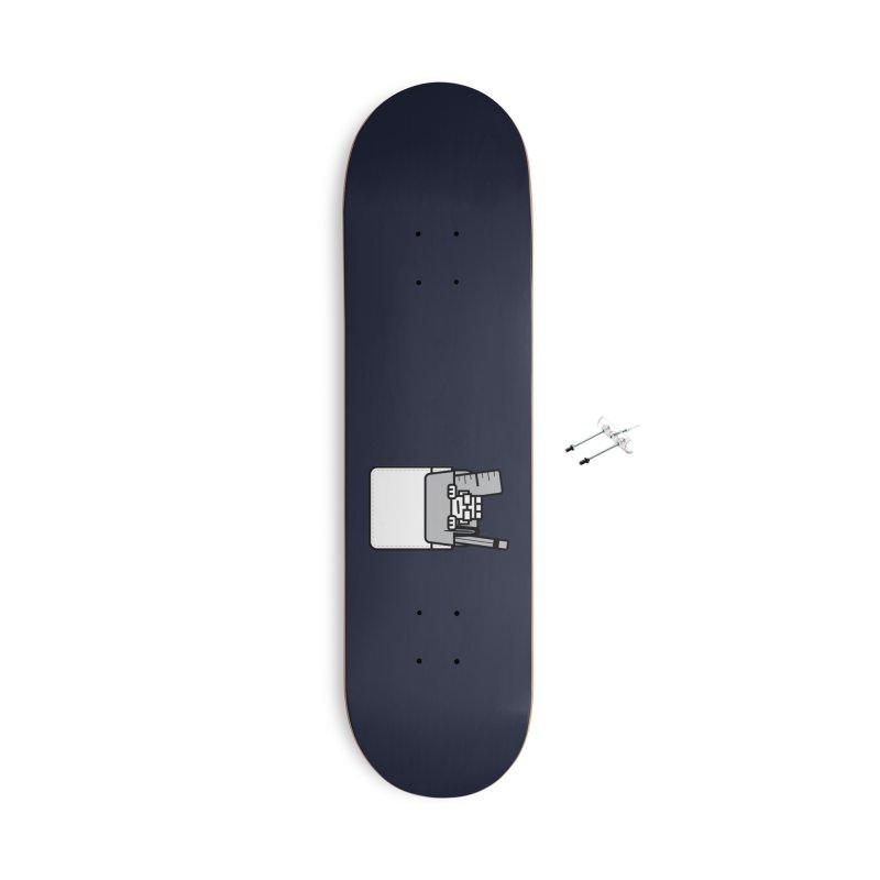 Nerd in Pocket Accessories Skateboard by Threadless Artist Shop
