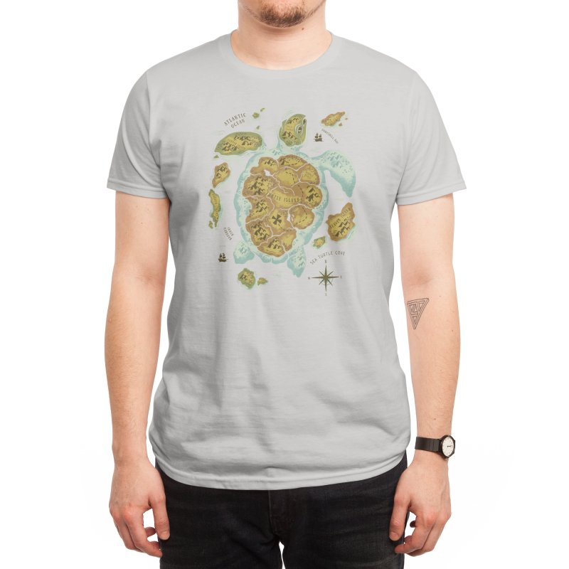 Turtle Island Men's T-Shirt by Threadless Artist Shop