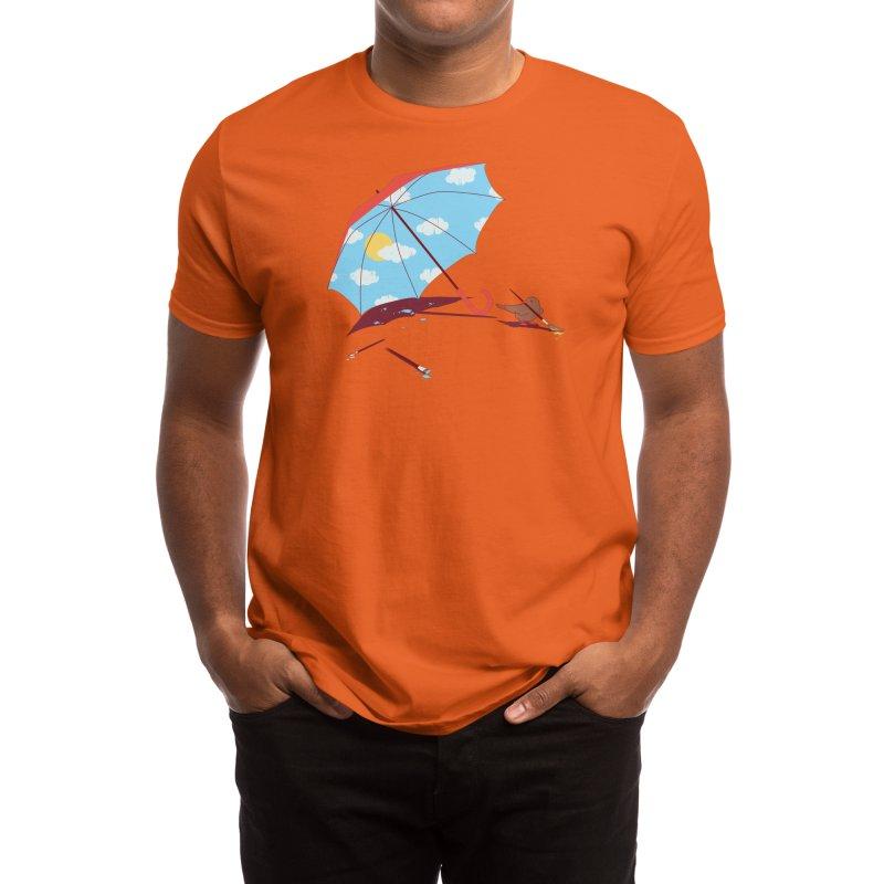 Waiting for the Sun Men's T-Shirt by Threadless Artist Shop