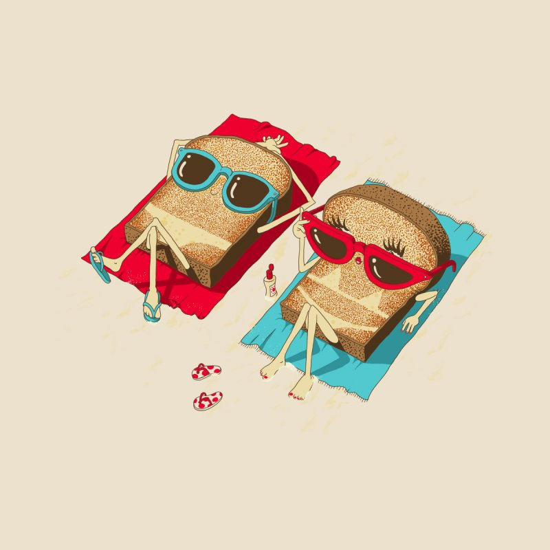 Toast Men's Tank by Threadless Artist Shop