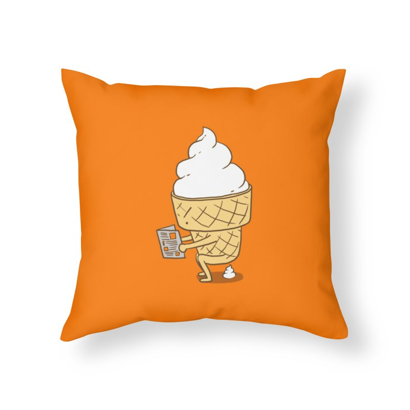 Everyone Poops - Lim Heng Swee Home Throw Pillow by Threadless Artist Shop