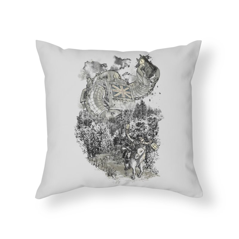 Twenty if by Giant Robot Home Throw Pillow by Threadless Artist Shop