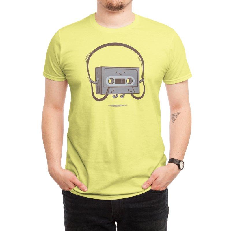 Jumping Tape Men's T-Shirt by Threadless Artist Shop