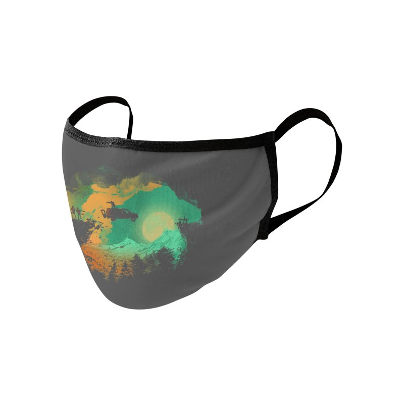 Leap of Faith Accessories Face Mask by Threadless Artist Shop