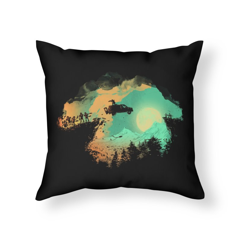 Leap of Faith Home Throw Pillow by Threadless Artist Shop