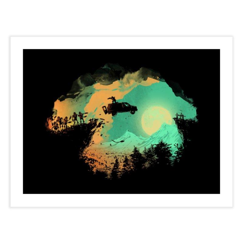 Leap of Faith Home Fine Art Print by Threadless Artist Shop