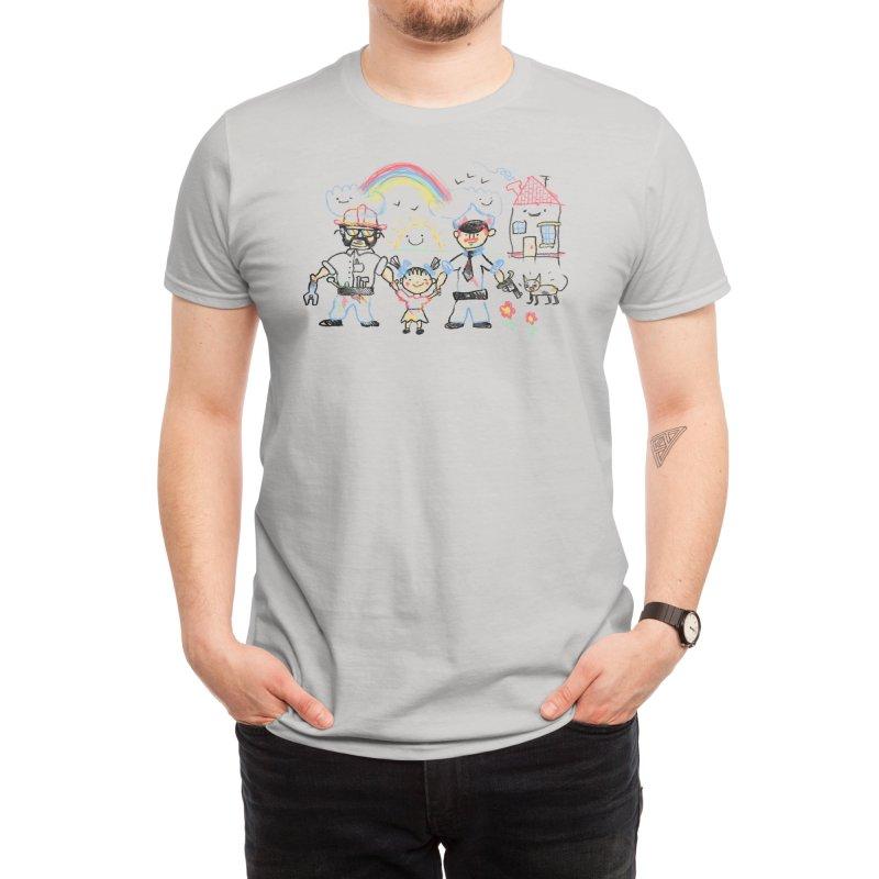 Two Dads Men's T-Shirt by Threadless Artist Shop