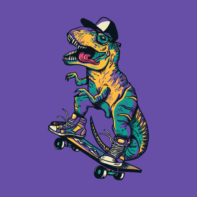 Tyrannosaurus RAD Men's T-Shirt by Threadless Artist Shop