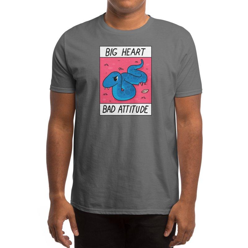 Big Heart/Bad Attitude Men's T-Shirt by Threadless Artist Shop