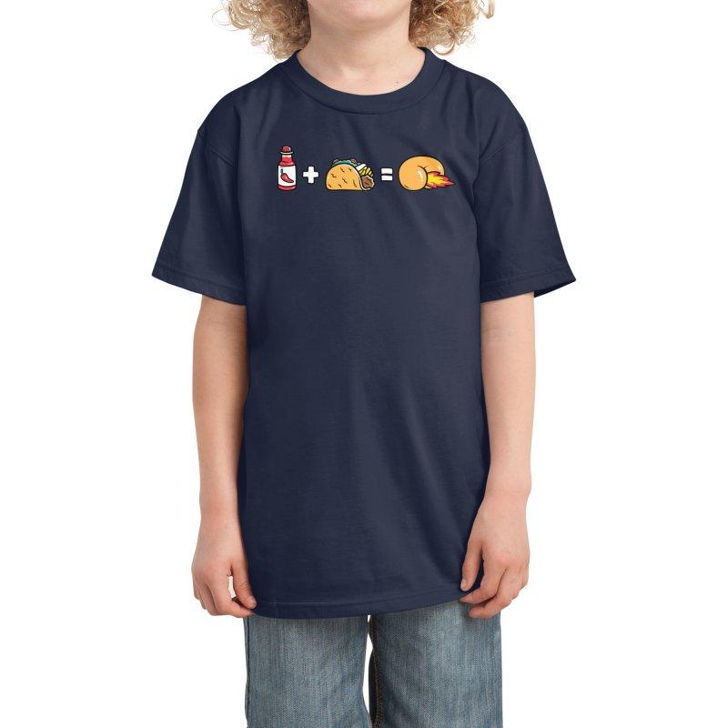 Butt Sauce! Kids T-Shirt by Threadless Artist Shop