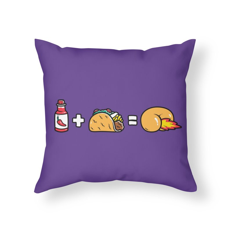Butt Sauce! Home Throw Pillow by Threadless Artist Shop