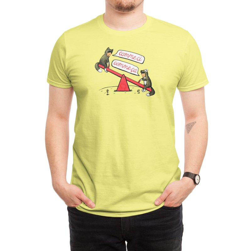 Seesaw Life Men's T-Shirt by Threadless Artist Shop