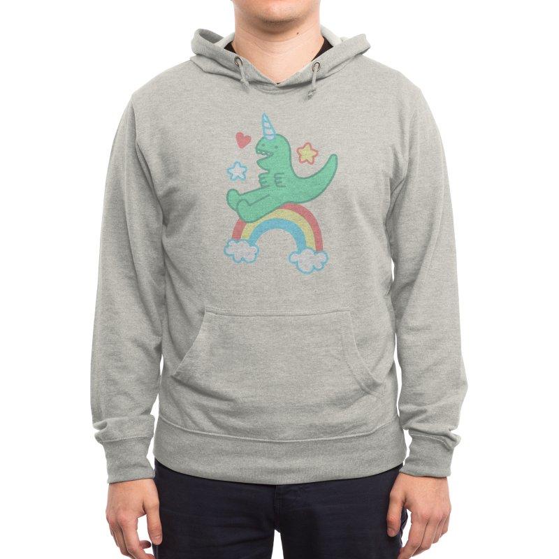T-Rexicorn Men's Pullover Hoody by Threadless Artist Shop