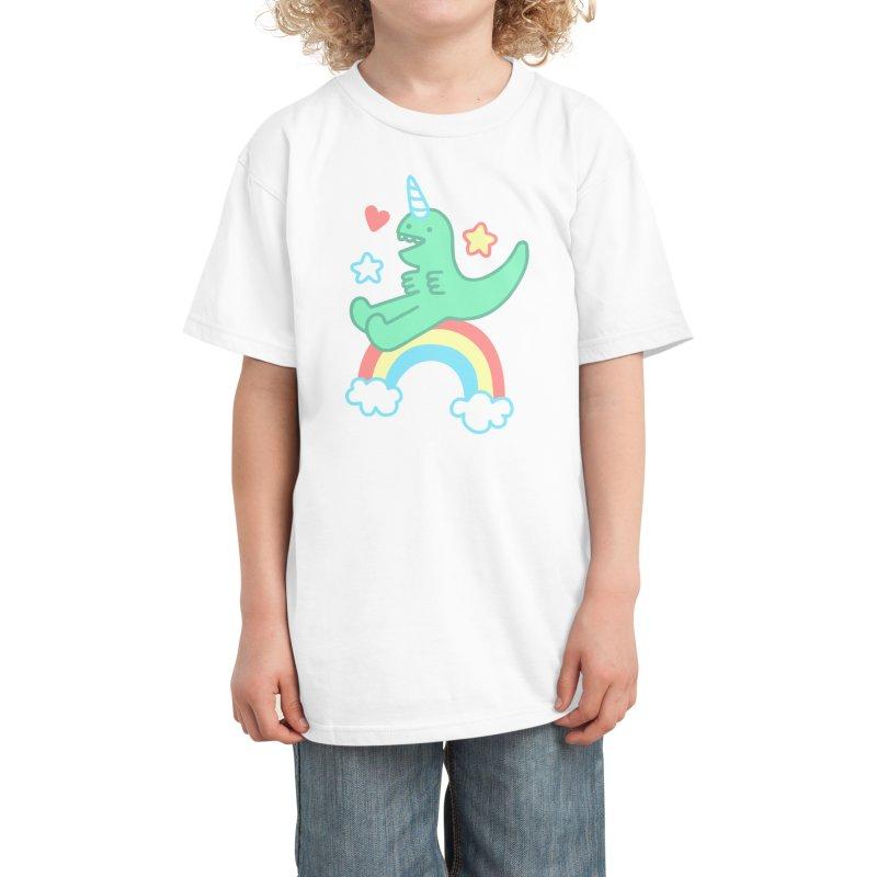 T-Rexicorn Kids T-Shirt by Threadless Artist Shop