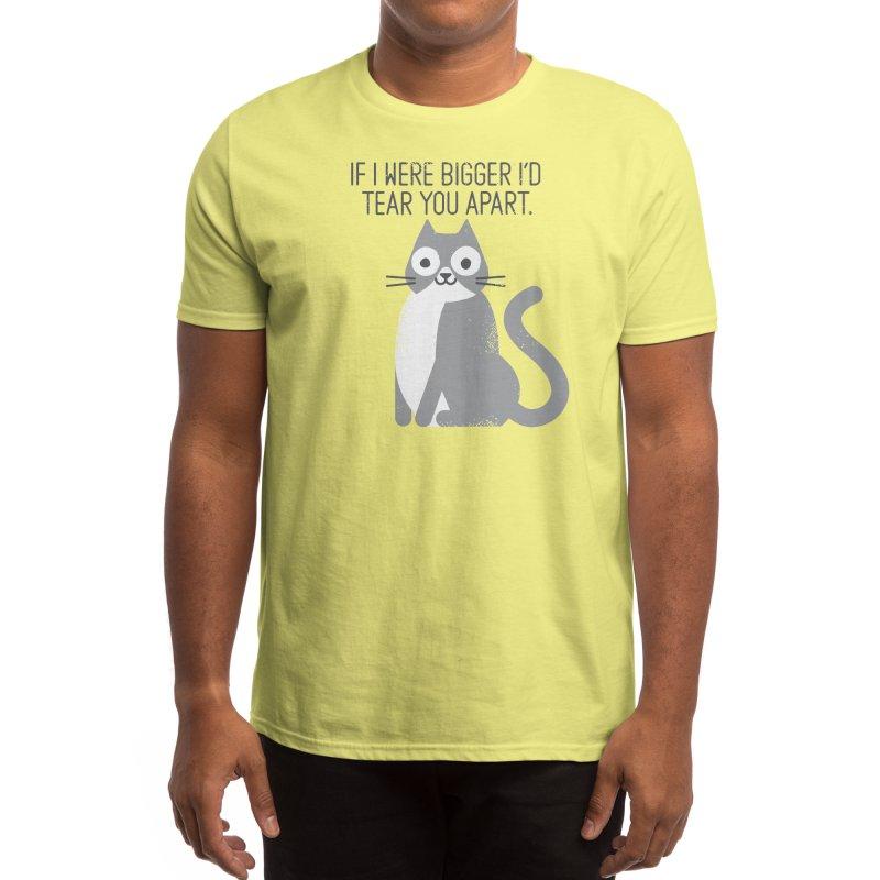 Purrfectly Honest Men's T-Shirt by Threadless Artist Shop