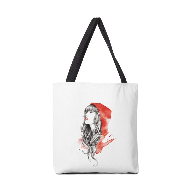 The Red Story Accessories Bag by Threadless Artist Shop