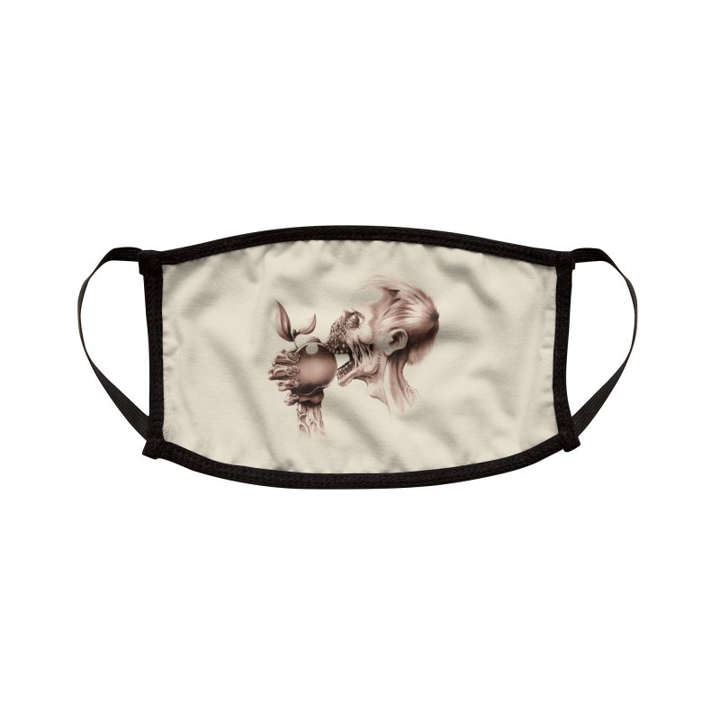 Vegetarian Zombie Accessories Face Mask by Threadless Artist Shop