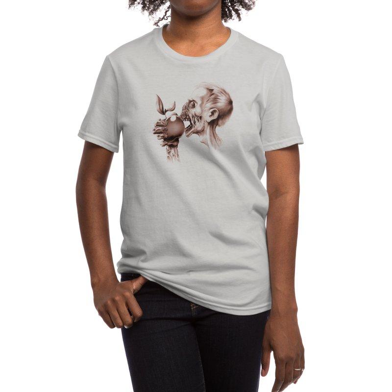 Vegetarian Zombie Women's T-Shirt by Threadless Artist Shop