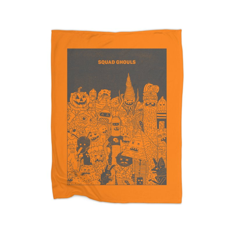 Squad Ghouls Home Blanket by Threadless Artist Shop