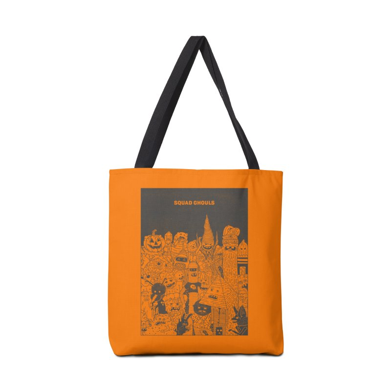 Squad Ghouls Accessories Bag by Threadless Artist Shop